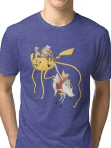 Pokebattle! Come on, grab your friends... Tri-blend T-Shirt