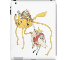Pokebattle! Come on, grab your friends... iPad Case/Skin