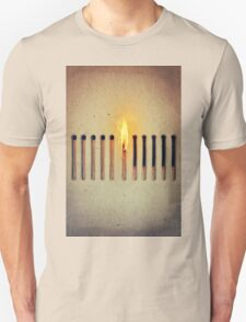 burning alone 2 T-Shirt