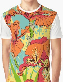 iris flower Graphic T-Shirt