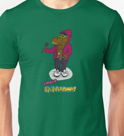 FLIGHT OF THE CONCHORDS - THE HIPHOPOPOTAMUS AND THE RHYMENOCEROS - THE HIPHOPOPOTAMUS VERSION 2 Unisex T-Shirt