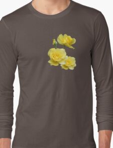 Yellow Rose Group Long Sleeve T-Shirt