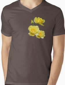 Yellow Rose Group Mens V-Neck T-Shirt