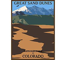 Great Sand Dunes (portrait) Photographic Print
