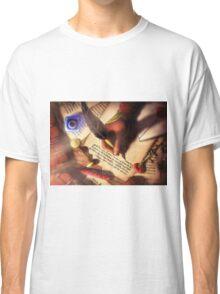 The Writer (Digital Illustration) - Rotated Classic T-Shirt