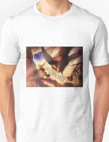 The Writer (Digital Illustration) - Rotated T-Shirt