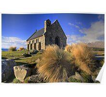 Church of the good Shephard - NZ Poster