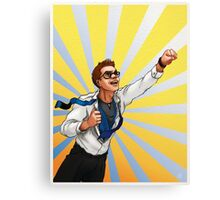 It's time to train! Canvas Print