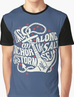 Like an Anchor In The Storm Graphic T-Shirt