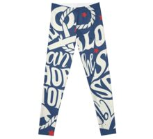 Like an Anchor In The Storm Leggings