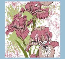 iris flower  Kids Tee