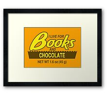 Reese's Books 2 Framed Print