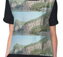 Cliffs of Marina Grande Chiffon Top