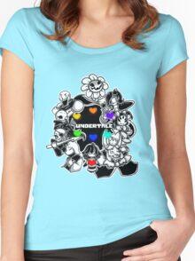 Undertale crew Women's Fitted Scoop T-Shirt