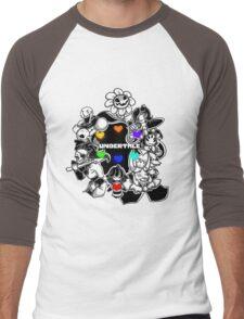 Undertale crew Men's Baseball ¾ T-Shirt
