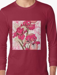 iris flower  Long Sleeve T-Shirt