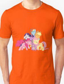 Mane Six and Spike group hug T-Shirt