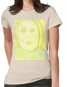 Portrait of Archangel Raphael Womens Fitted T-Shirt