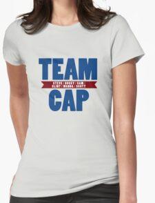 TEAM CAP Womens Fitted T-Shirt