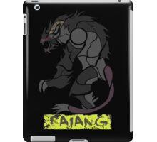 The Raging Gold Lion iPad Case/Skin