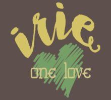 Jamaica Irie  One Love  Baby Tee