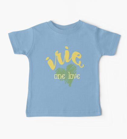Jamaica Irie  One Love  Baby Tee