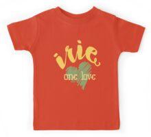 Jamaica Irie  One Love  Kids Tee