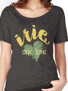 Jamaica Irie  One Love  Women's Relaxed Fit T-Shirt