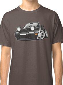 Mazda MX-5 Miata caricature black Classic T-Shirt