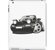 Mazda MX-5 Miata caricature black iPad Case/Skin