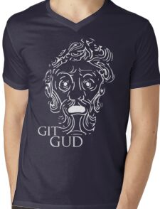 Git Gud Mens V-Neck T-Shirt
