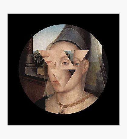 Puzzle face Photographic Print