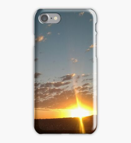 Sunset on the Darling Downs iPhone Case/Skin