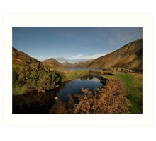 Wastwater and Wasdale Head Art Print