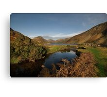Wastwater and Wasdale Head Canvas Print