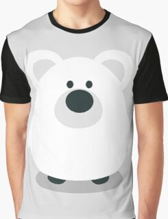 Cute Polar Bear Graphic T-Shirt