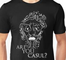 Big Daddy says: Are you casul? Unisex T-Shirt