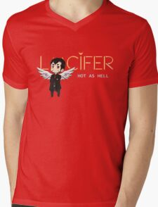 Lucifer Morningstar Mens V-Neck T-Shirt