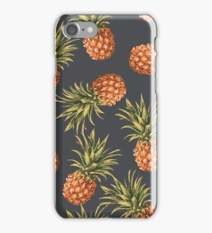 Pineapples Pattern iPhone Case/Skin
