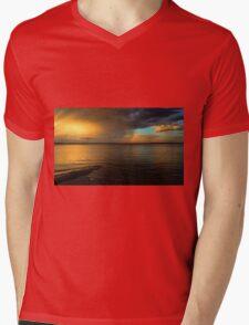 Evening Skies Mens V-Neck T-Shirt