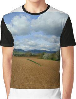 Rural scenery Graphic T-Shirt