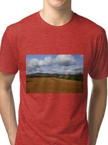 Rural scenery Tri-blend T-Shirt