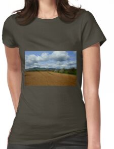 Rural scenery Womens Fitted T-Shirt