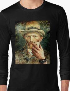 Van Gogh Selfie Long Sleeve T-Shirt