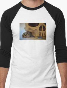 Tango the Leopard Gecko Men's Baseball ¾ T-Shirt