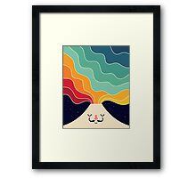 Keep Think Creative Framed Print