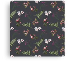 Vintage Flowers Canvas Print