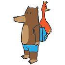 Bear & Bird alt. by Feldir
