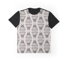 Badminton Shuttlecock Pattern Graphic T-Shirt