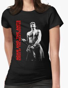 ADAM AND THE ANTS Kings Of The Wild Frontier Womens Fitted T-Shirt